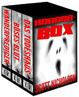 Horror-Box: Drei Romane