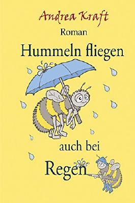 Hummeln fliegen auch bei Regen