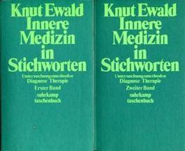 Innere Medizin in Stichworten. Band 1 und 2. Untersuchungsmethoden, Diagnose, Therapie.