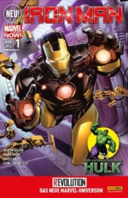 Iron Man / Hulk #1 (2013, Panini) ***MARVEL NOW***
