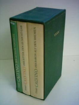 Italo Calvino: Der geteilte Visconte / Der Ritter, den es nicht gab / Der Baron auf den Bäumen [3 Bände]