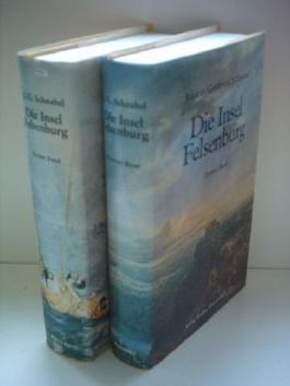 Johann Gottfried Schnabel: Die Insel Felsenburg oder Wunderliche Fata einiger Seefahrer[ Band 1 + 2 ] [hardcover]