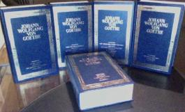 Johann Wolfgang von Goethe - 5 Bände - Lizenzausgabe nach Text der Weimarer Sophienausgabe 1887 - (Kunstleder)