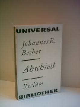 Johannes R. Becher: ABSCHIED [7. Auflage]