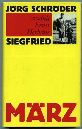 Jörg Schröder erzählt Ernst Herhaus Siegfried.