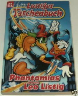 LTB Nr.344 - Phantomias gegen Leo Listig (2005) gebr.