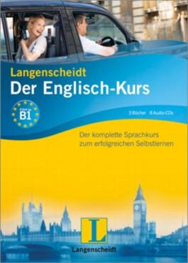 Langenscheidt Der Englisch-Kurs - Set mit 3 Büchern und 8 Audio-CDs