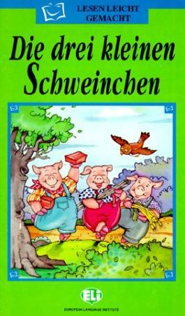 Lesen Leicht Gemacht - Die Grune Reihe: Die Drei Kleinen Schweinchen - Book & CD