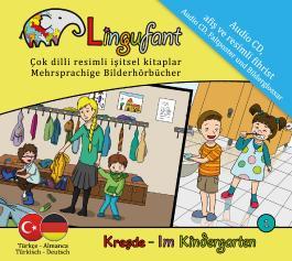 Lingufant - Im Kindergarten: Türkisch - Deutsch