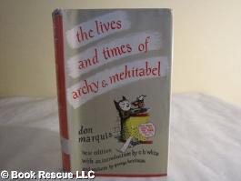 Lives & Times of Archy & Mehitabel