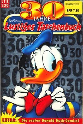 Lustiges Taschenbuch LTB 230 30 Jahre Lustiges Taschenbuch : Extra: Die ersten Donald Duck-Comics! ;
