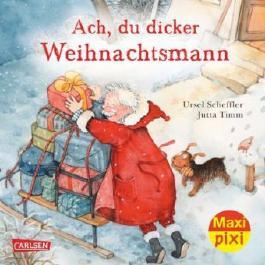Maxi-Pixi Nr. 166: Ach, du dicker Weihnachtsmann