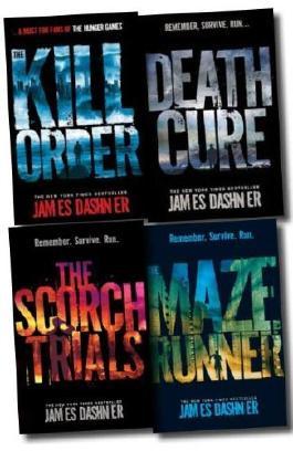 Maze Runner Collection: 4 Books Set