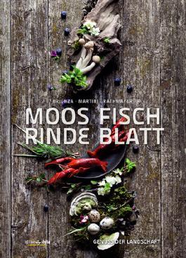 Moos. Fisch. Rinde. Blatt