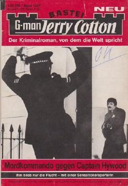 Mordkommando gegen Captain Hywood [Taschenbuch 1981] Neu Bastei Jerry Cotton Band 1327