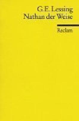 Nathan der Weise von Lessing. Gotthold Ephraim (1987) Taschenbuch