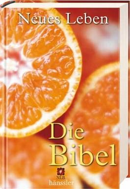 Neues Leben - Die Bibel, Orangenmotiv