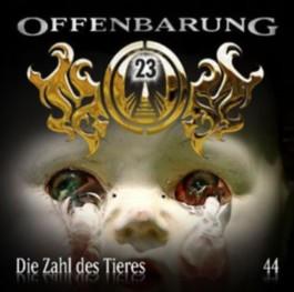 Offenbarung 23, Die Zahl des Tieres, 1 Audio-CD