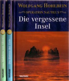 """Operation Nautilus: 3 BÃ""""NDE. Die vergessene Insel. Die Herren der Tiefe. Das Mädchen von Atlantis"""