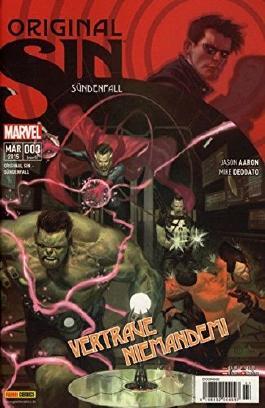 Original Sin #3 - ***Beginn des grössten Verbrechens des Marvel- Universums*** (2015, Panini) ***MARVEL NOW***