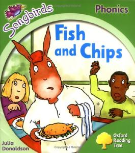 Oxford Reading Tree: Stage 2: Songbirds: Fish and Chips (Ort Songbirds Phonics Stage 2)