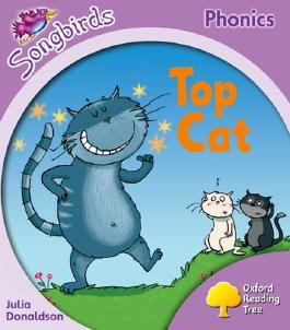 Oxford Reading Tree Songbirds Phonics: Level 1+: Top Cat