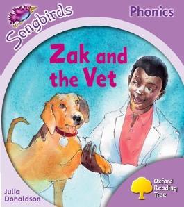 Oxford Reading Tree Songbirds Phonics: Level 1+: Zak and the Vet