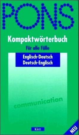 PONS Kompaktwörterbuch Englisch, Ausgabe 2002
