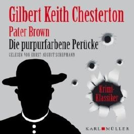 Pater Brown: Die purpurfarbene Perücke (Krimi-Klassiker)