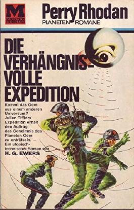 Perry Rhodan Planet Romane Nr. 5 Die verhängnisvolle Expedition