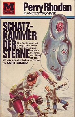 Perry Rhodan Planeten Romane Nr. 3 Schatzkammer der Sterne