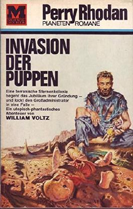 Perry Rhodan Planeten Romane Nr. 9 Invasion der Puppen