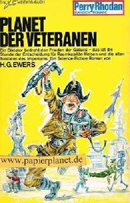Perry Rhodan Planetenromane Band 48:  Planet der Veteranen