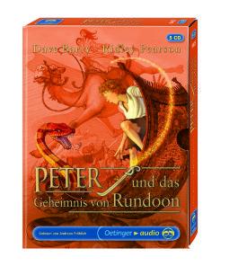 Peter und das Geheimnis von Rundoon, 5 Audio-CDs