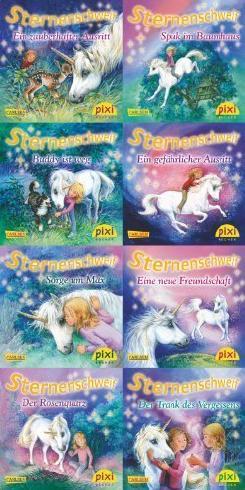 Pixi-Bundle 8er Serie 203: Sternenschweif von Chapman. Linda (2011) Taschenbuch