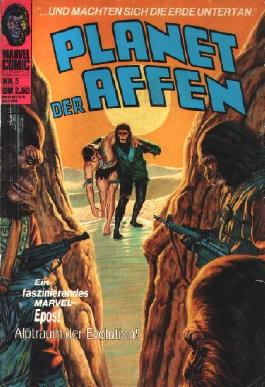 Planet der Affen Nr. 5 (Marvel Comic) = Planet Of The Apes