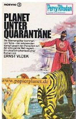 Planet unter Quarantäne, Perry Rhodan Planetenromane 46, 3. Auflage