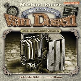 Professor van Dusen - Lebende Bilder - toter Mann,1 Audio-CD