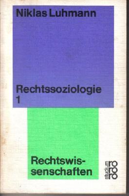 Rechtsoziologie 1