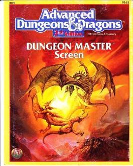 Dungeon Master Screen/Ref 1