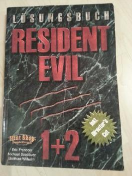 Resident Evil Komplettband Lösungsbuch. Deutsche Fassungen