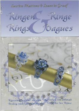 Ringen / Ringe / Rings / Bagues / druk 1: rijgtechnieken voor sieraden in het Nederlands, Duits, Engels en Frans