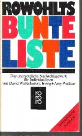 Rowohlts Bunte Liste