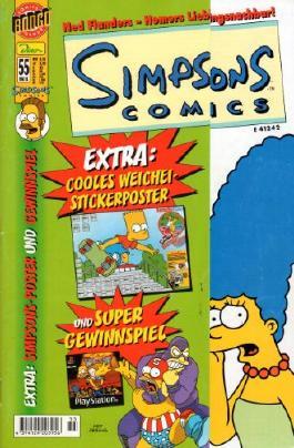 SIMPSONS COMICS # 55 - Die Bier Boys (Dino 2001) (Simpsons)