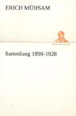 Sammlung 1898-1928