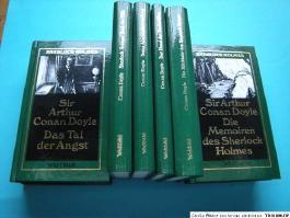 Sämtliche Erzählungen und Romane um Sherlock Holmes: 9 Bde
