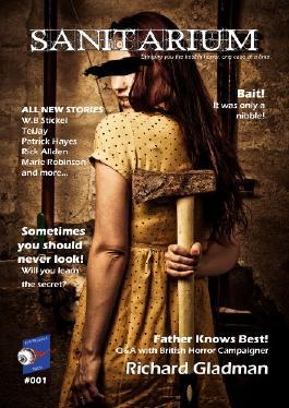 Sanitarium #1 (Horror Fiction and Dark Verse) Magazine