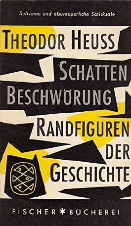 Schattenbeschwörung : Randfiguren der Geschichte.