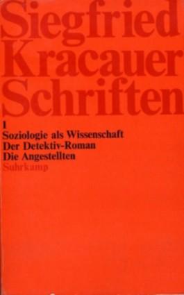 Schriften. 1. Soziologie als Wissenschaft