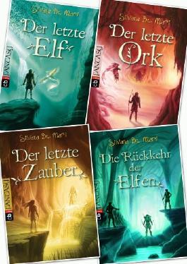 Silvana de Mari, Elfen Saga, Band 1,2,3,4 (Elfen Saga)